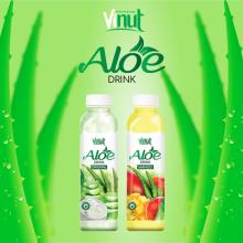 VINUT Wholesale Product Bottled Original Flavor Tropical Aloe Vera Drink