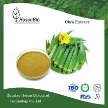 GMP Manufacturer Supplying High Quality Okra Extract Powder