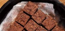 Carob Oatmeal Brownies