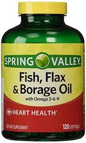 Flax and Borage Oil