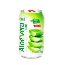 330ml Cans Original taste Aloe vera drink (pack of 24)