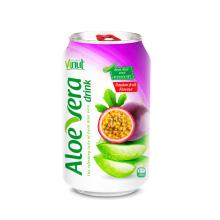330ml Cans Original taste Aloe vera drink with Passion fruit natural flavour(pack of 24)