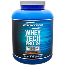 WHEY TECH PRO 24 - RICH CHOCOLATE (5 POUND POWDER)
