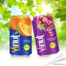 330ml Canned Grape Juice Drink--Private Label Accepted
