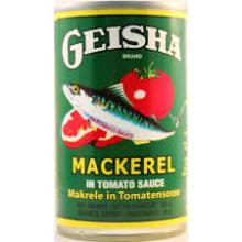 Geisha Mackerel In Tomato Sauce