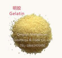 Food Additives Gelatin (cowhide/ pigskin/ fish skin/ animal