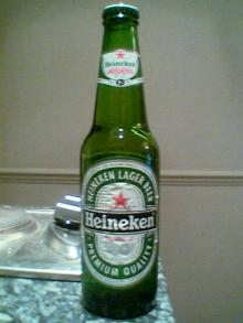 Heineken Beer bottles...........