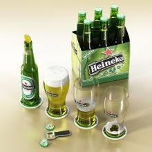 Heineken available in cans-- and bottle (250ml, 330 ml & 500 ml)
