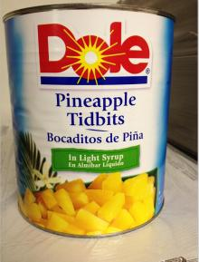Catering size Pineapple Tidbits,Pizza cut Pineapple,tropical fruit