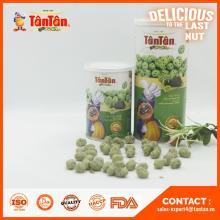 Tan Tan peanuts with wasabi and seaweed