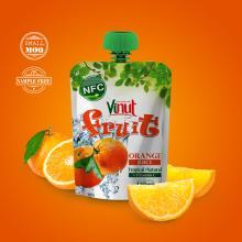 Orange Juice Drink in Bag