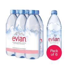 Evian Natural Mineral Water in 330ML, 500ML, 750ML, 1L, 1.5L