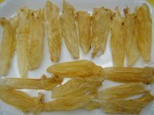 Dried seebass fish maw