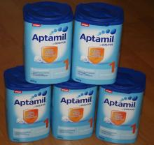 Standaard Nutrilon 1,2,3,4,5 and Aptamil Baby Milk Formula