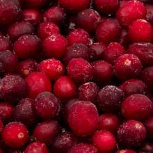IQF whole cranberries