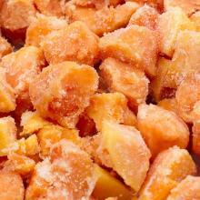 IQF diced papaya