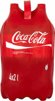 COCA-COLA 4 x 2L Soft Drink