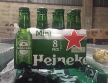 Heineken beer 250ml ,330ml & 500ml (DUTCH ORIGIN) All Text Available