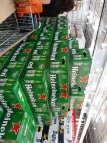 Heineken Beer Available in Bottles & Cans - Lager