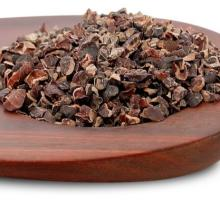 100% Organic Grade A Cacao Nibs with Yacon Syrup