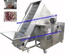 Shallots/red onions/small onions peeling machine