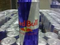 R.E.D.... Bull Energy Drink Red / Blue / Silver