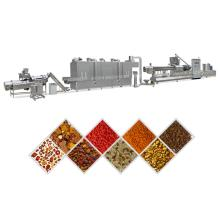 Full animal feed production line pet dog food machine