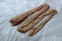 Pork rectum whole / Pork large intestines / Frozen pork rectum