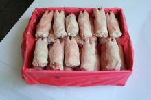 Pork front feet