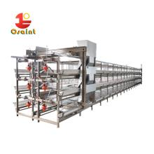 Hot sale automatic egg layer for poultry farm chicken cage
