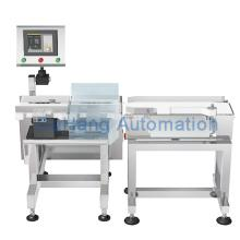 Automatic conveyor in motion checkweigher machine
