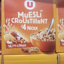 MUESLI CROUSTILLANT 4NOIX