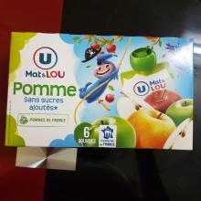 MAT&LOU POMME SANS SUCRES