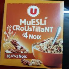 MUESLI CROUSTILLANT 4 NOIX