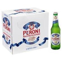 Peroni Nastro Azzurro 33cl bottles