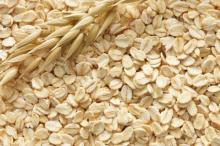 Natural expanded oatmeal powder