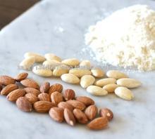 Сладкий Калифорнийский миндаль доступен/ сырые миндальные орехи/ вкусные и полезные сырые миндальные орехи