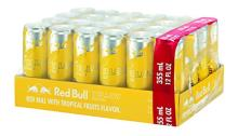 Red Bull Yellow Edition, Tropical Energy Drink,