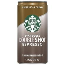 Starbucks Doubleshot, Espresso + Cream