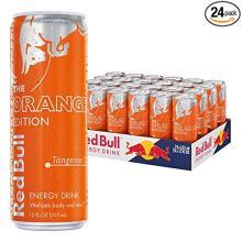 Red Bull Tangerine Energy Drink, Orange Edition