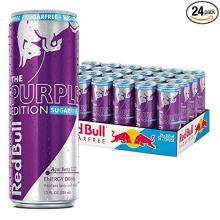 Red Bull Sugarfree Purple Edition, Acai Berry Energy Drink