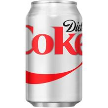 Diet Coke Fridge Pack Cans, 12 Count