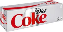 Diet Coke Fridge Pack Cans, 12 Count