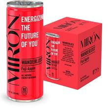 Mir?3n Fuji Apple All Natural Sparkling Energy Beverage