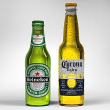 Becks/Bavaria/Carlsberg/Corona- Beer 33cl -Bottle
