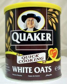 Quaker Quick Cooking White Oat 500g