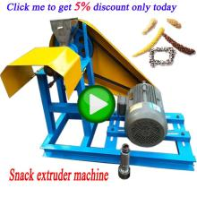 Small Puff Grain Corn Soybean Flour Extruder Snack Food Making Machine