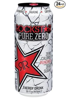 Rockstar Pure Zero Punched Energy Drink