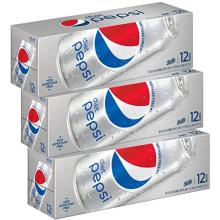 Diet Pepsi Soda, Fridge Pack Bundle