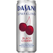 Dasani Sparkling Drinking Water, Black Cherry
